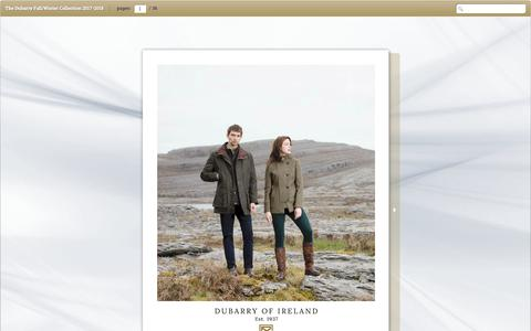 The Dubarry Fall/Winter Collection 2017-2018