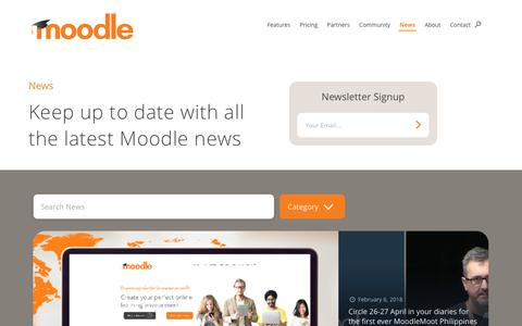 News - Moodle