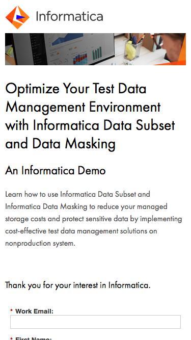 Optimize Your Test Data Management Environment