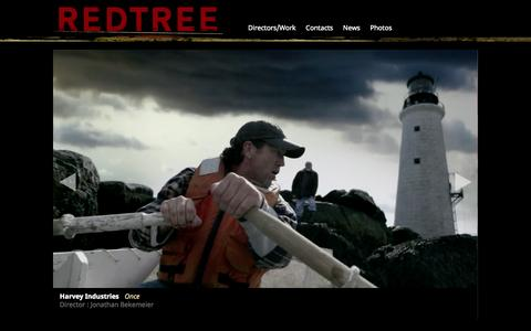 Screenshot of Home Page redtreeprod.com - Redtree Productions | Television Production - captured Oct. 9, 2014