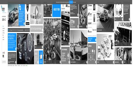 Screenshot of Home Page rsm-auto.com - RSM AUTO | Automotive Marketing and Digital PR agency - captured Oct. 6, 2014