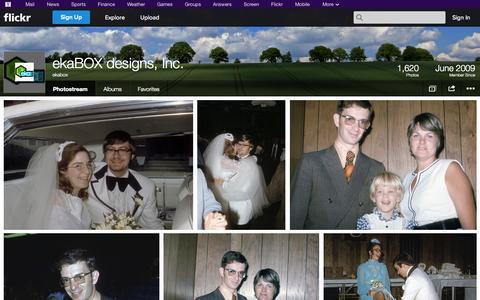 Screenshot of Flickr Page flickr.com - Flickr: ekabox's Photostream - captured Oct. 23, 2014