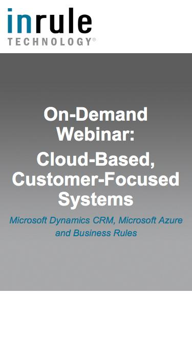 On-Demand Webinar - Cloud-Based, Customer-Focused Systems