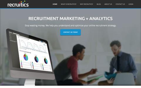 Recruitics | Recruitment Marketing Powered by Analytics