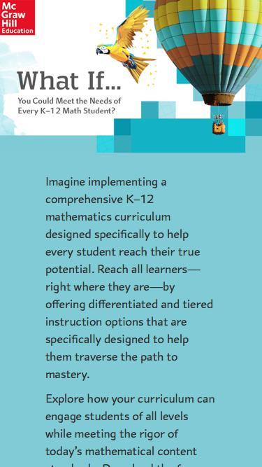 McGraw-Hill Education | K-12 Math
