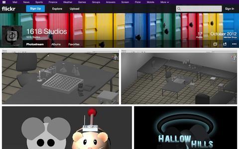 Screenshot of Flickr Page flickr.com - Flickr: 1618 Studios' Photostream - captured Oct. 26, 2014