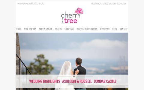Screenshot of Testimonials Page cherrytree-films.com - Testimonials » Cherry Tree Films Website – Wedding Film Video Blog - captured July 17, 2018