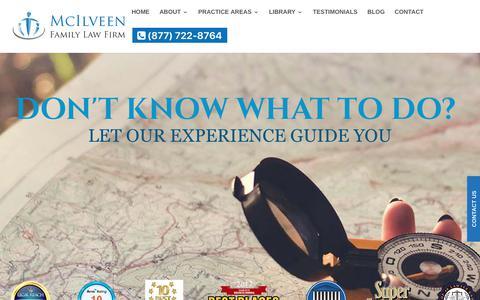 Divorce & Child Custody Lawyers - McIlveen Family Law Firm