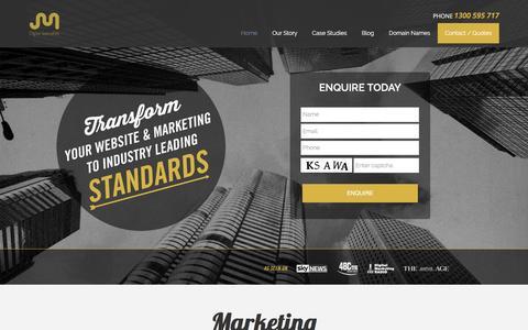 Screenshot of Home Page jmarketing.com.au - J Marketing | Digital Marketing Agency - captured Feb. 2, 2016