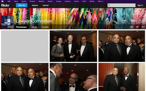 Screenshot of Flickr Page flickr.com - Flickr: LawyersCommittee's Photostream - captured Oct. 22, 2014
