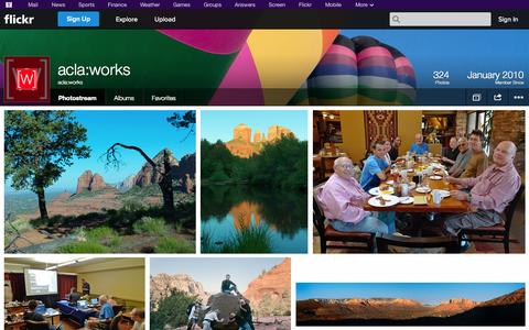 Screenshot of Flickr Page flickr.com - Flickr: acla:works' Photostream - captured Oct. 23, 2014