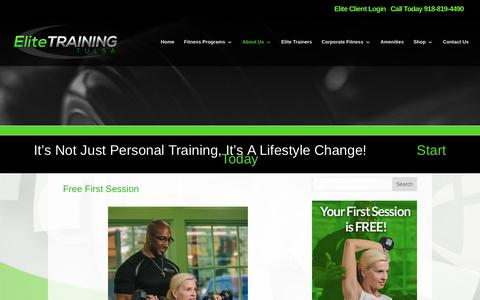 Elite Training Tulsa | Free First Session | Elite Training