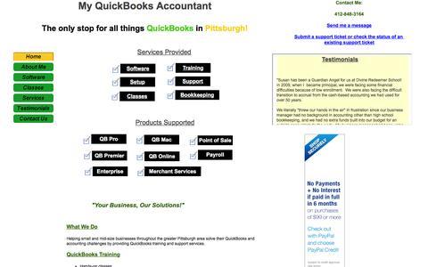 My QuickBooks Accountant - Home