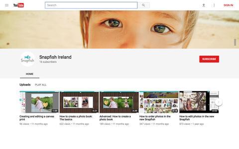 Snapfish Ireland - YouTube