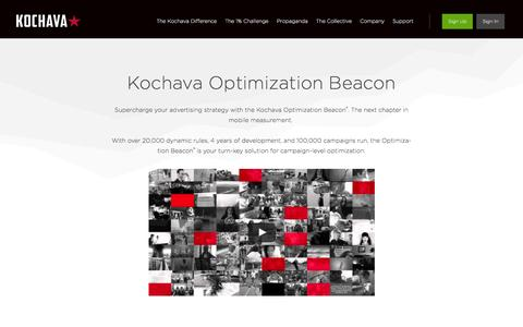 Kochava Optimization Beacon