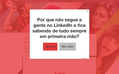 Screenshot of About Page b-young.me - About • Agência de Mídias Sociais | B-Young Social Media Co. - captured Sept. 27, 2015