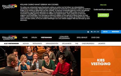Vestigingen - Holland Casino