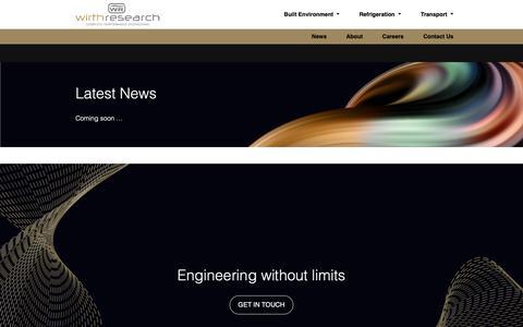 Screenshot of Press Page wirthresearch.com - Latest News - Wirth Research - captured Dec. 11, 2018