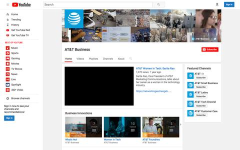 AT&T Business  - YouTube