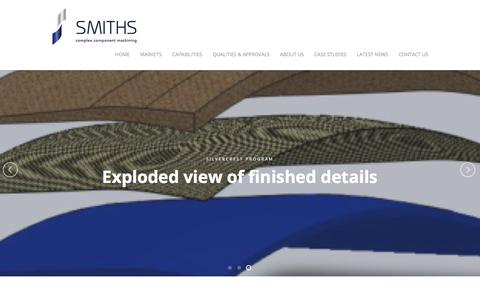 Screenshot of Case Studies Page smiths-harlow.co.uk - Smiths Harlow, current vacancies and opportunities - captured Oct. 26, 2017