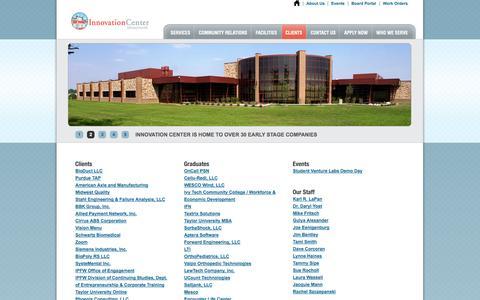 Screenshot of Site Map Page niic.net - NIIC - captured Oct. 26, 2014