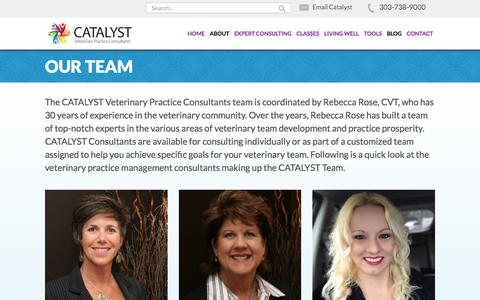 Screenshot of Team Page catalystvetpc.com - Catalyst Vet PC Team Members Archive - Catalyst Vet PC - captured July 7, 2017