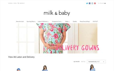 View All Labor and Delivery – Milk & Baby