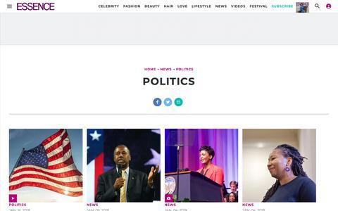Politics | Essence.com