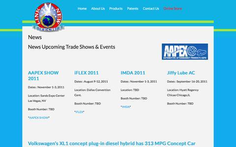 Screenshot of Press Page linknewtech.com - News – LinkNew Tech Inc - captured Aug. 16, 2017