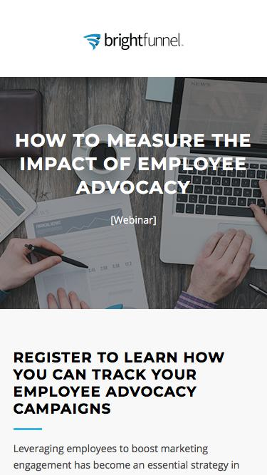 How to Measure the Impact of Employee Advocacy Webinar