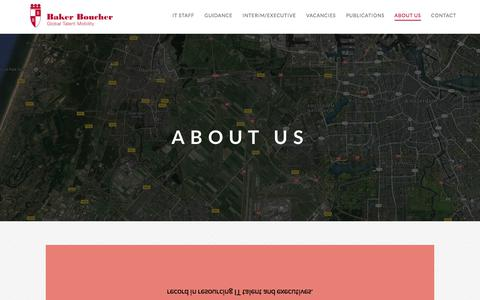 Screenshot of About Page bakerboucher.com - About us - Baker Boucher - captured May 31, 2017
