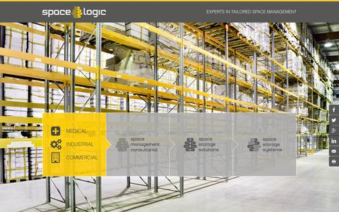 Screenshot of Home Page spacelogic.com.au - Space Logic - Experts in Tailored Space Management - captured June 19, 2015