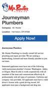 New Landing Page AppCast Job Exchange