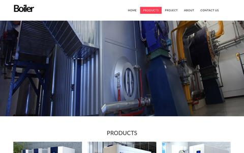 Screenshot of Products Page swvbrevoordt.nl - Gas Boiler,Hot Water Boiler,Steam Boiler,Gas Fired Boiler Manufactory - captured Dec. 8, 2018