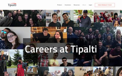 Careers with the leader in AP supplier payments | Tipalti