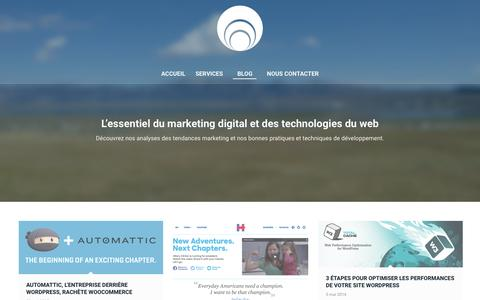 Screenshot of Blog agence-planb.com - Blog - Agence Plan B - captured Dec. 24, 2015