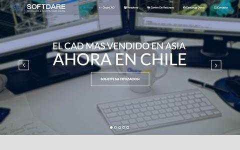 Screenshot of Home Page softdare.cl - Softdare.cl | Tecnología & Construcción digital - captured Aug. 16, 2015