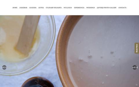 Screenshot of Products Page jafferjihouse.net - Products - Jafferji House & Spa - captured Feb. 4, 2018