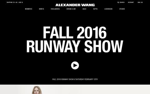 Alexander Wang Official Site | Designer Clothes & Accessories
