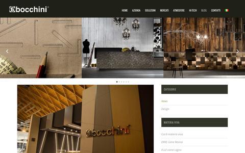 Screenshot of Blog bocchini.it - Blog | Bocchini Arredamenti - captured Feb. 7, 2016