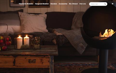 Screenshot of Home Page living-elements.nl - Living Elements - captured July 15, 2016