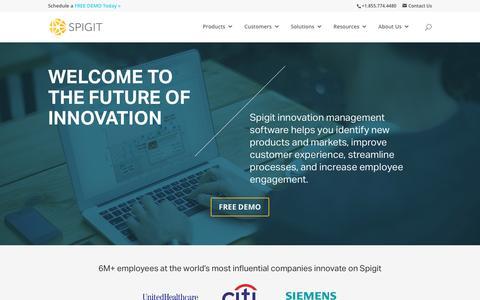 Idea & Innovation Management Software | Spigit