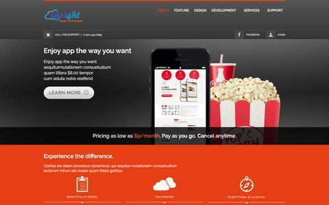 Screenshot of Home Page softwerewebdevelop.com - Softwere - Web Development | Mobile Apps Development | Web Design & Graphics! - captured April 8, 2016