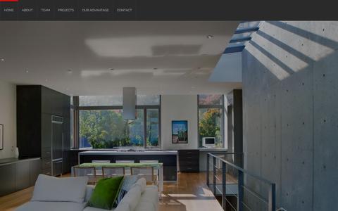 Screenshot of Home Page harttipton.com - Hart + Tipton Construction | PASSION. VISION. ADVANTAGE. - captured Sept. 20, 2015