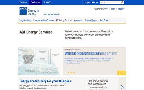 AGL - AGL Energy Services