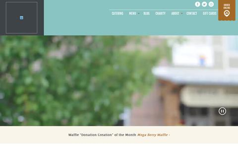 Screenshot of Home Page yolascafe.com - Home – Yola's Cafe - Madison, WI Coffee Shop - captured July 13, 2018