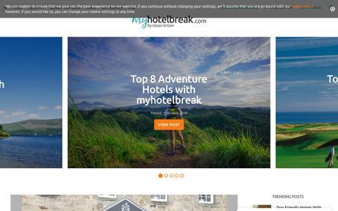 Screenshot of Blog myhotelbreak.com - Blog   myhotelbreak.com - Hotel deals in the UK - captured July 5, 2018