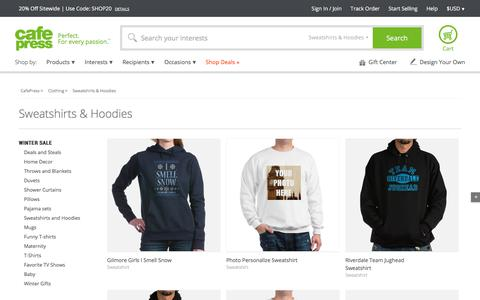 Sweatshirts: Hoodies and Custom Sweatshirts   CafePress