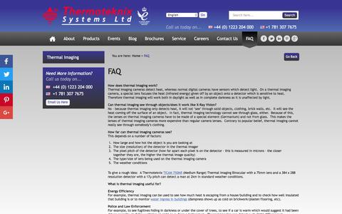 Screenshot of FAQ Page thermoteknix.com - FAQ - Thermoteknix Systems Ltd - captured Dec. 2, 2016