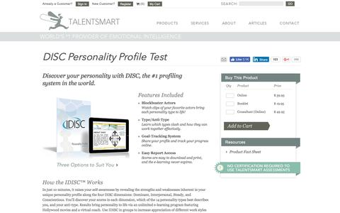 DISC 2.0? | Get the World's #1 DISC Personality Profile Test